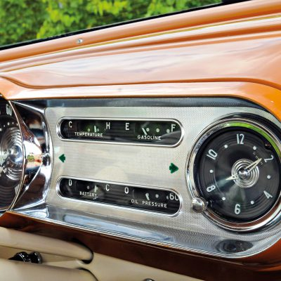 Chevrolet Bel Air dashboard