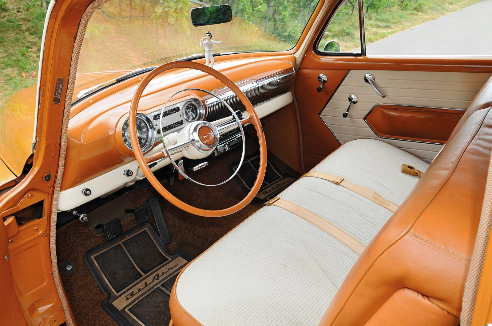 Chevrolet Bel Air interieur
