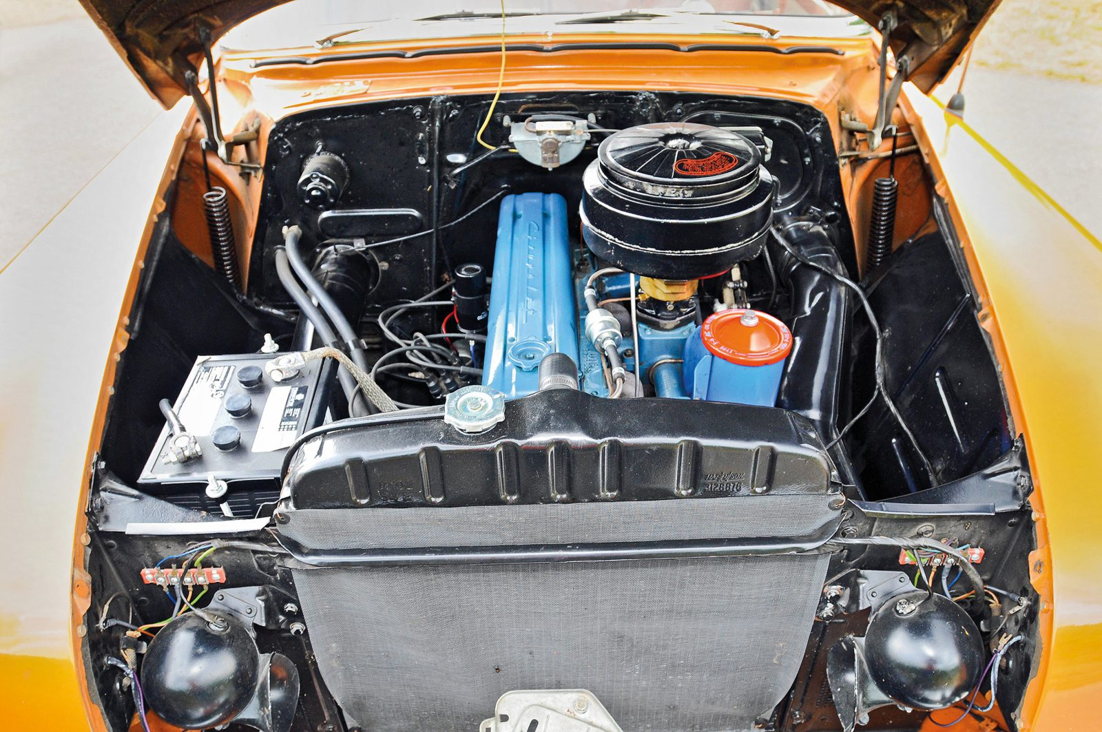 Chevrolet Bel Air motor