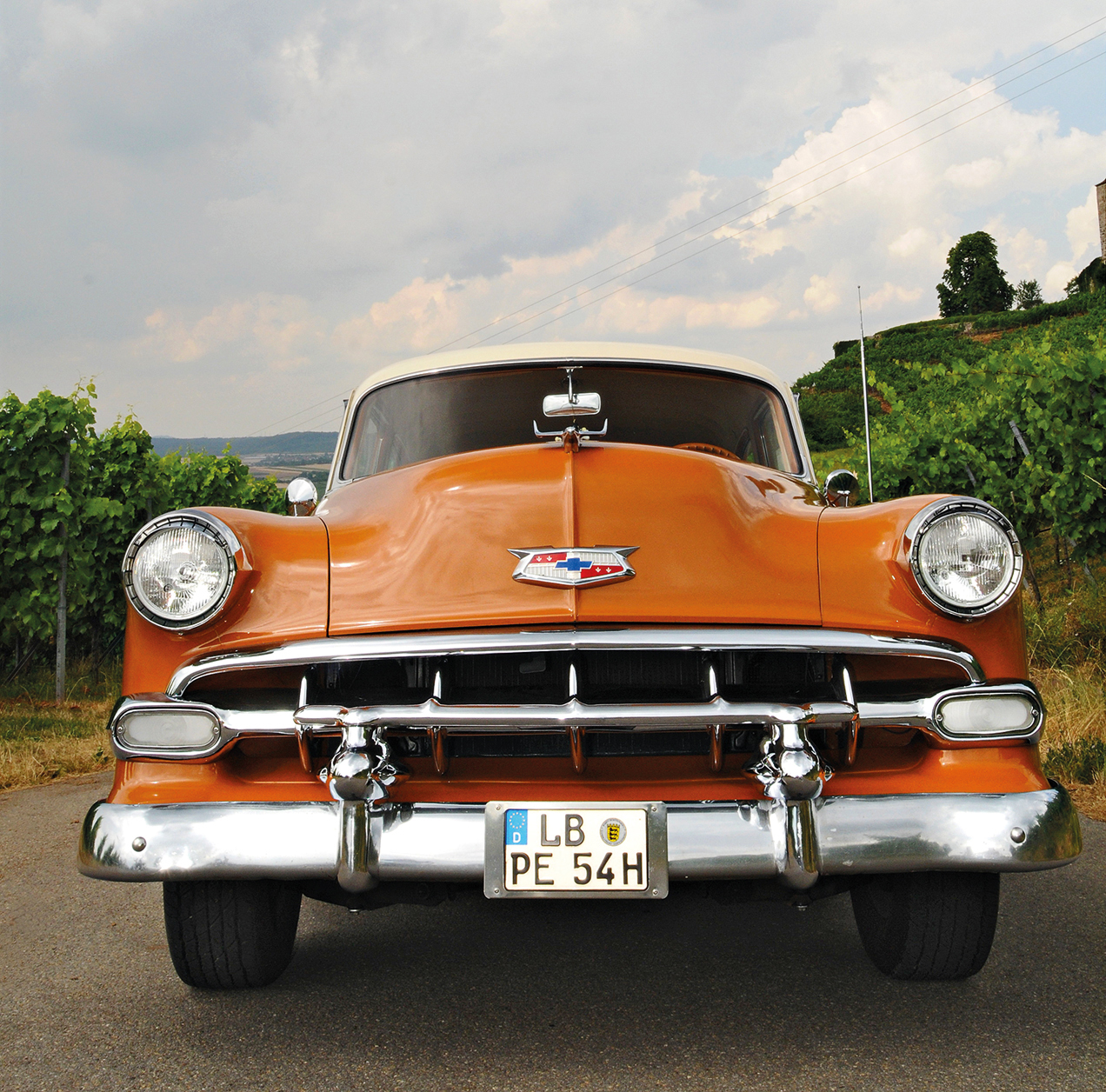 Chevrolet Bel Air voorkant
