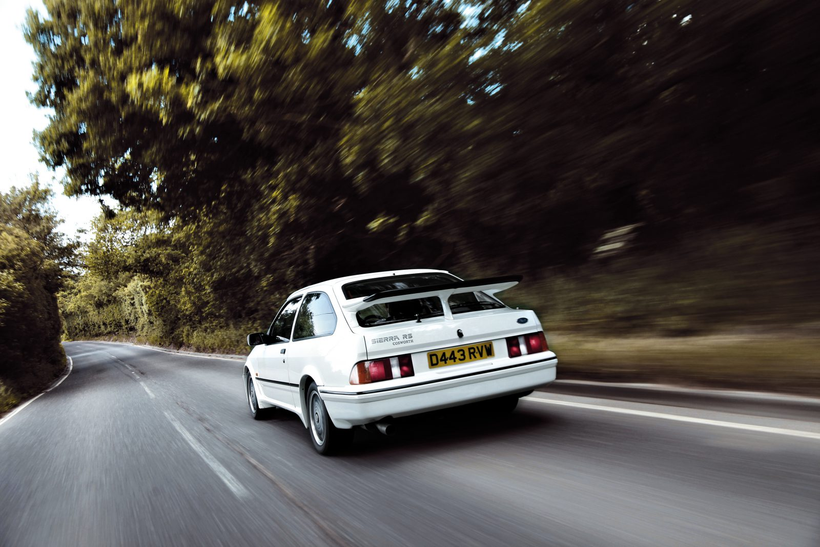 Ford Sierra RS Cosworth achterkant