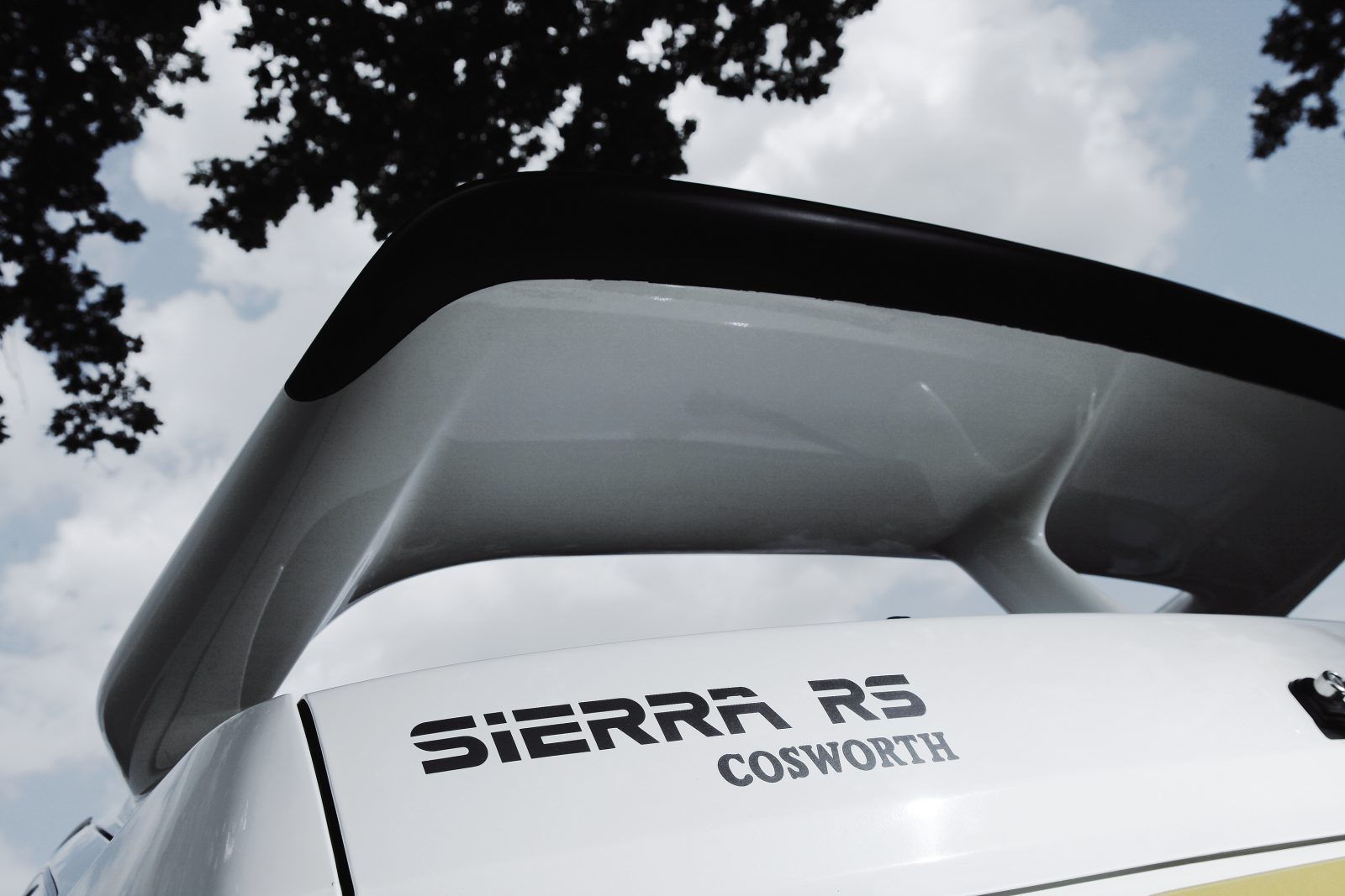 Ford Sierra RS Cosworth spoiler