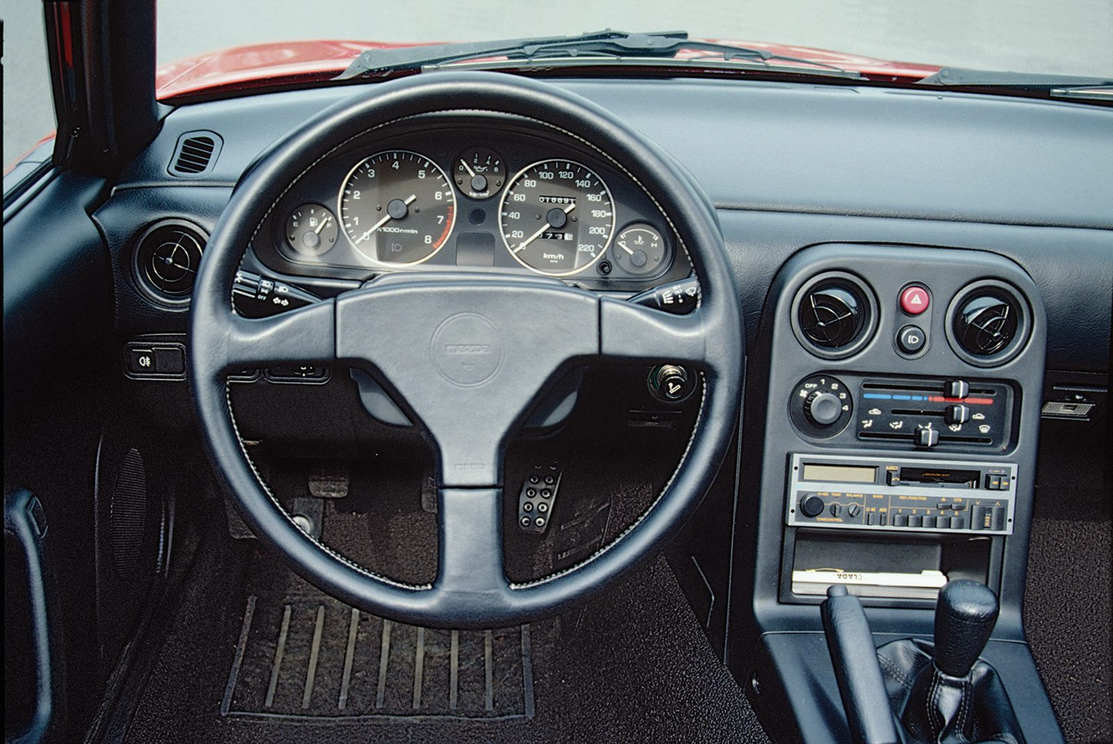 Mazda MX-5 interieur