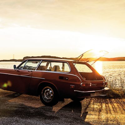 Volvo 1800 ES-sundown