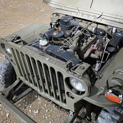 Willys Jeep MB motor