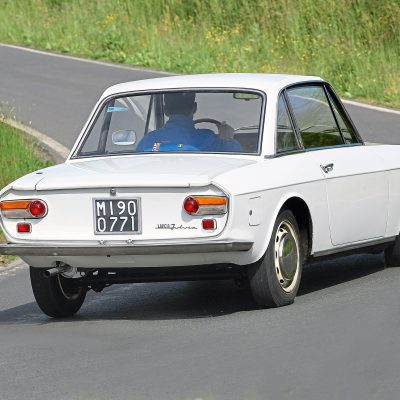 Lancia Fulvia Coupe achter