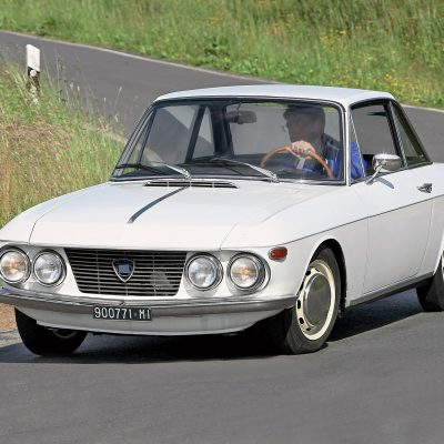 Lancia Fulvia Coupe voorkant