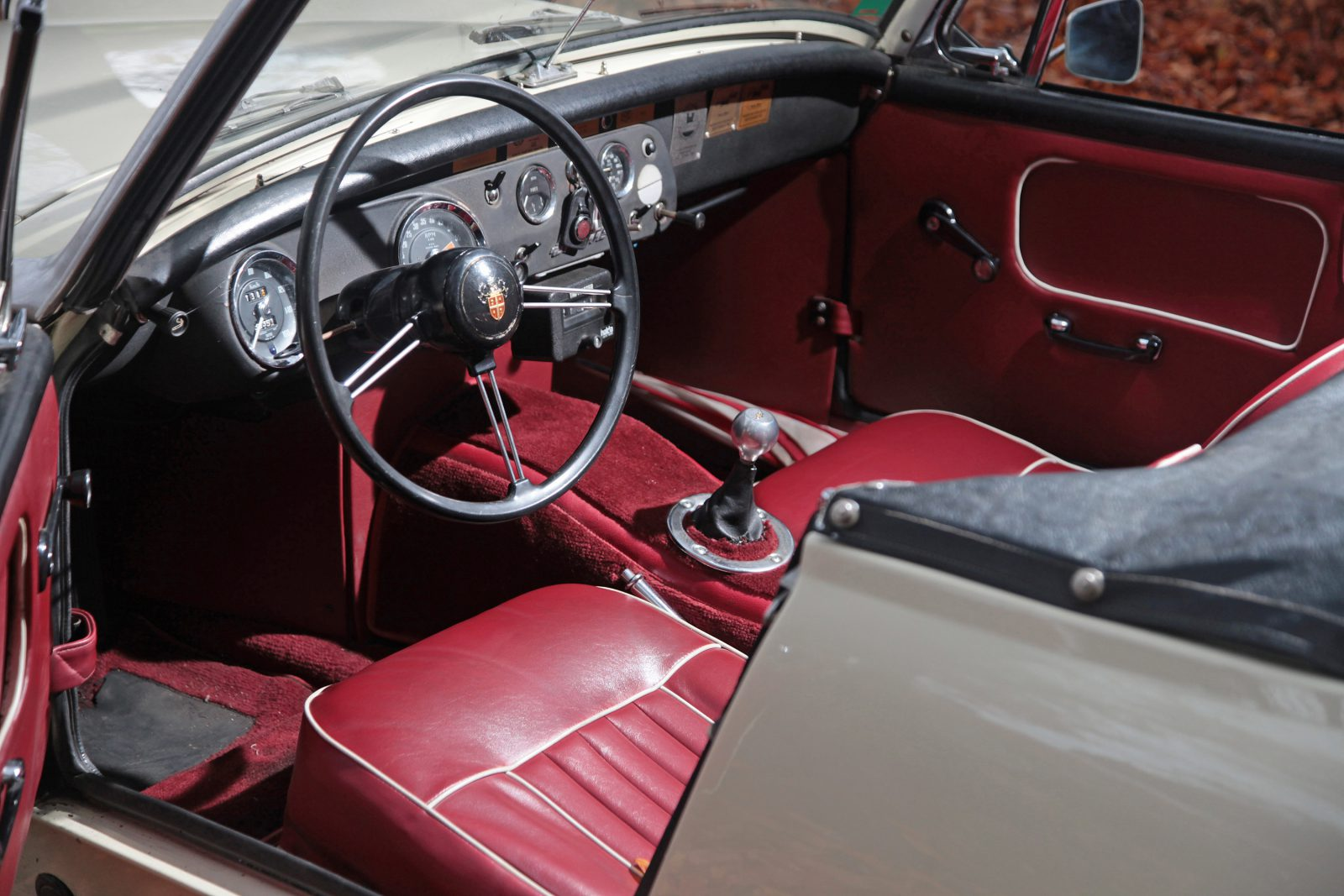 Austin Healey Sprite interieur