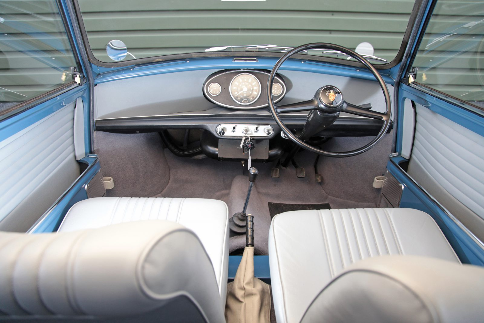 Austin Mini Countryman interieur