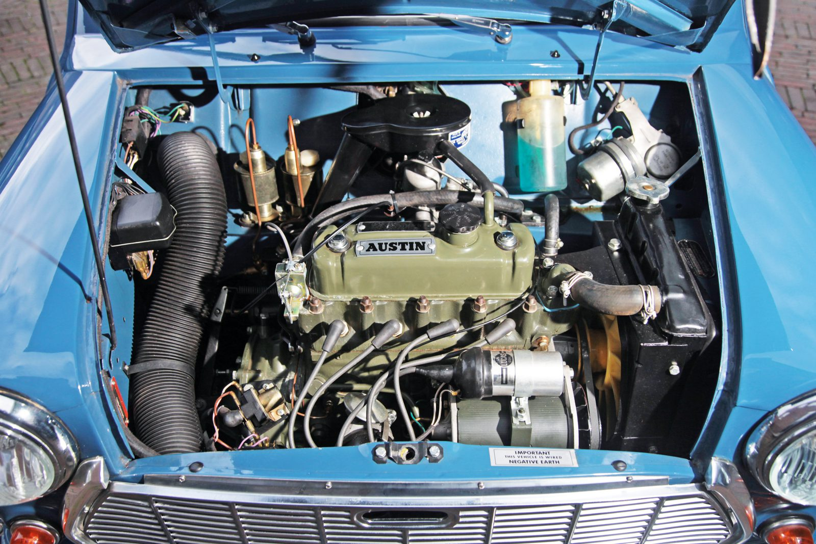 Austin Mini Countryman motor