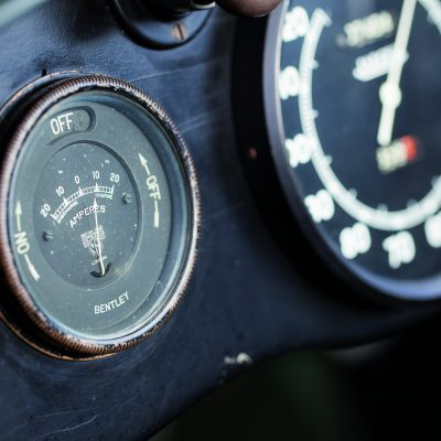 Bentley 4 1/2 Litre dashboard