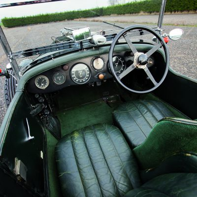 Bentley 4 1/2 Litre interieur
