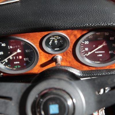 Fiat 850 Spider dashboard