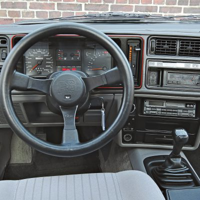 Ford Sierra XR4I interieur