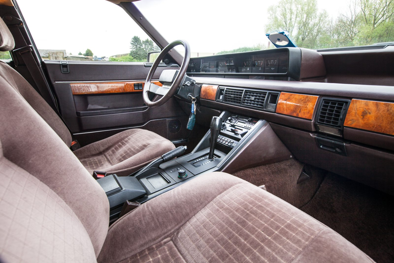 Interior Rover 3500 SD1