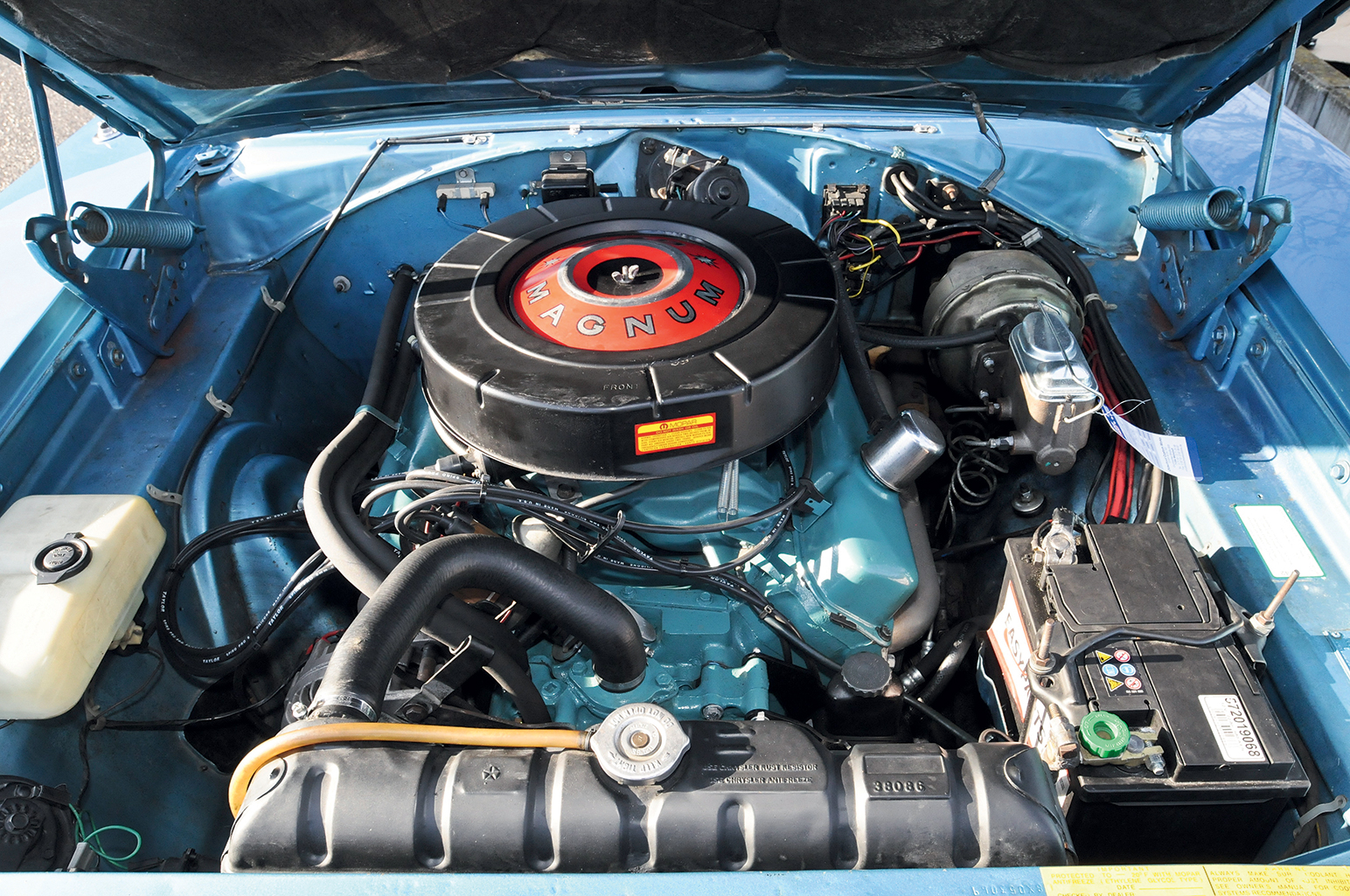 Dodge Charger RT motor