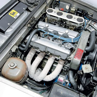 Fiat 124 Sport Coupe motor