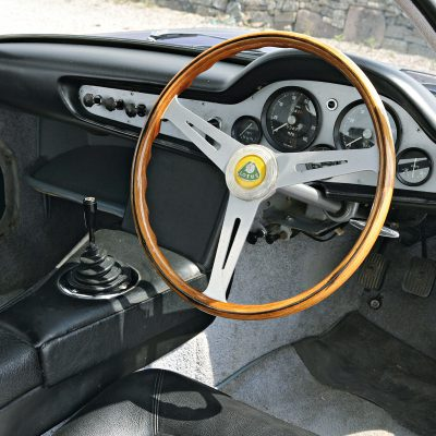 Lotus Elite interieur