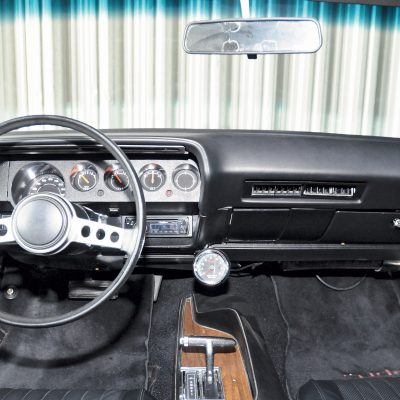 Plymouth Barracuda interieur