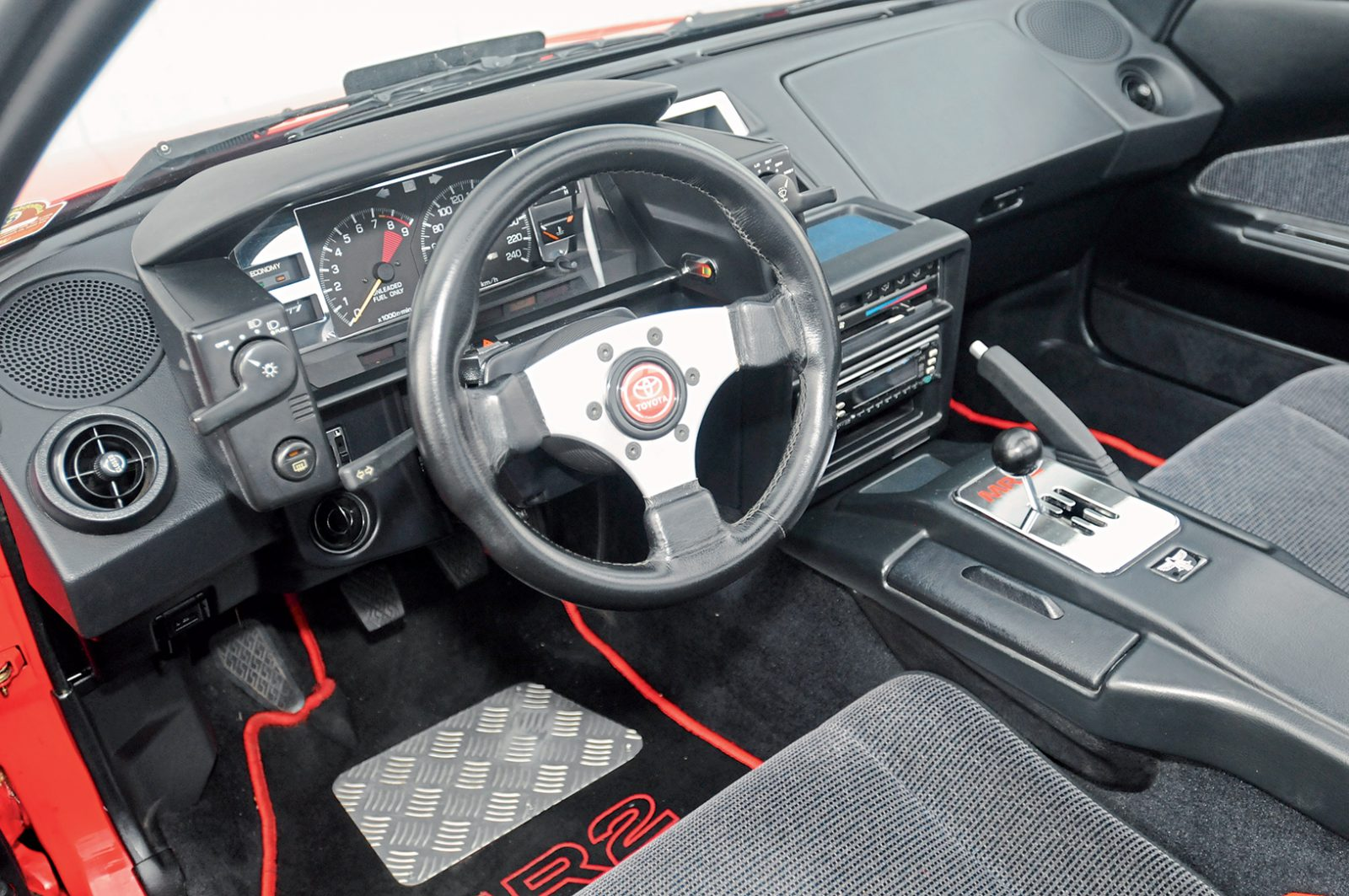Toyota MR2 interieur