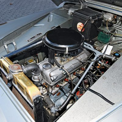 Borgward_Isabella_Coupe_engine_motor