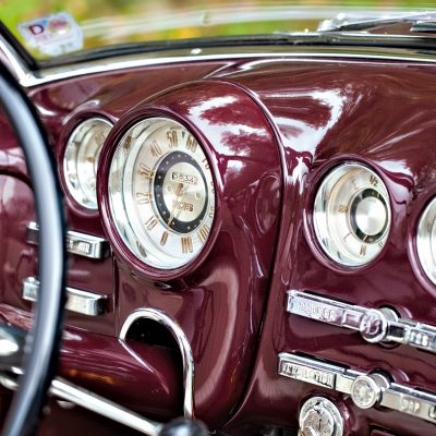 Buick Super Convertible dashboard