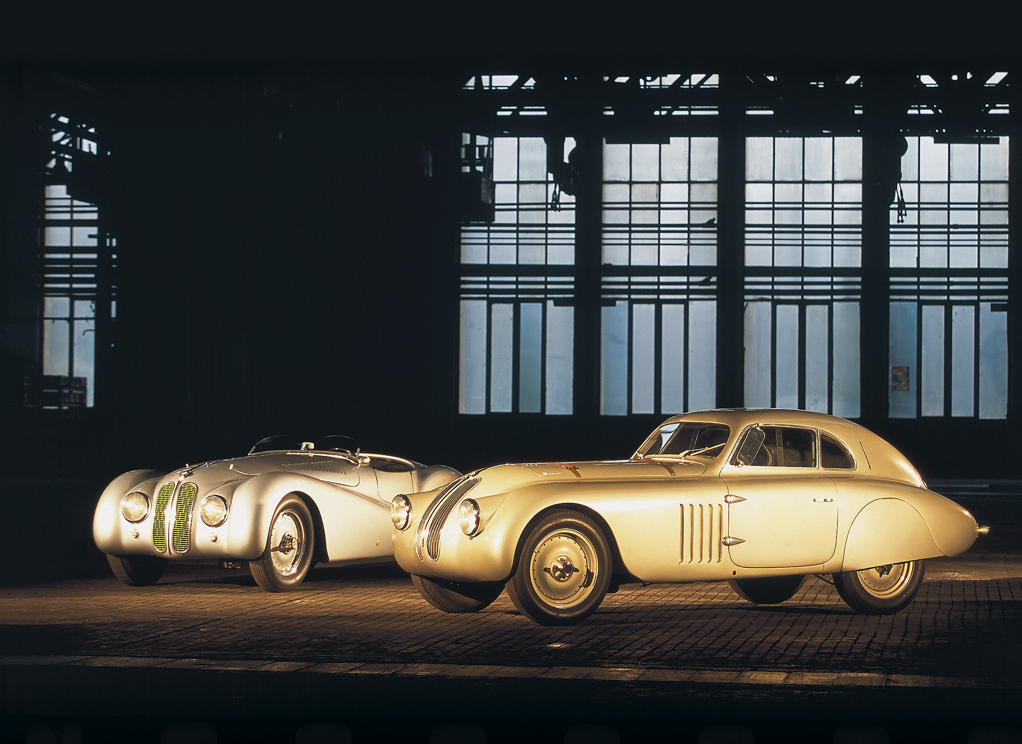 BMW 328 Roadster en Coupé