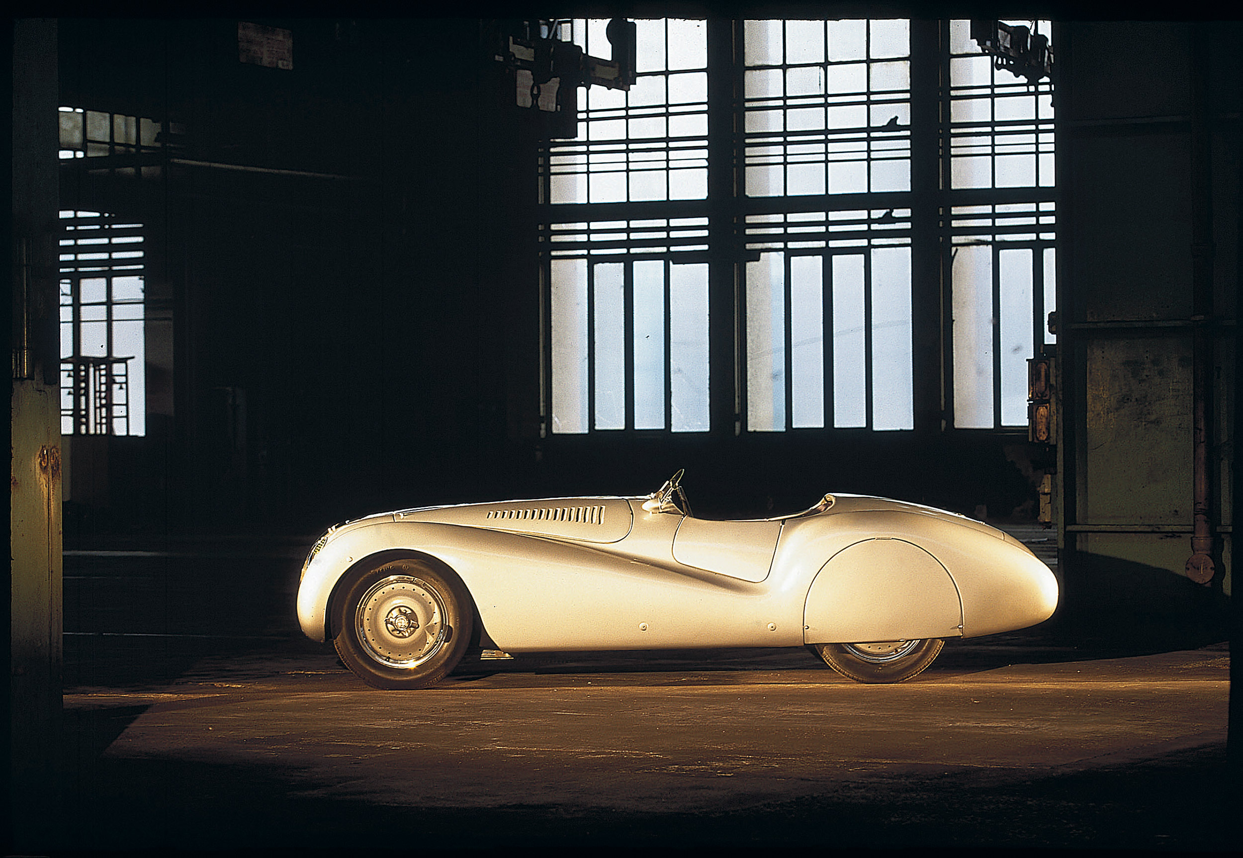 BMW 328 Roadster zijkant