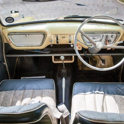Ford Thames interieur
