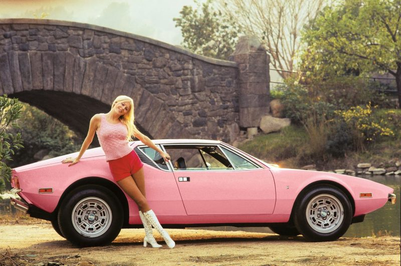 1972 Liv Playmate-of-the-year-1972-DeTomaso-Pantera