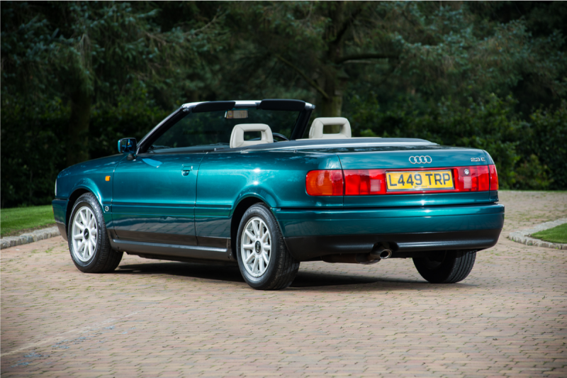 2. 1994 Audi Cabriolet - Formerly the Personal Conveyance of Diana, Princess of Wales