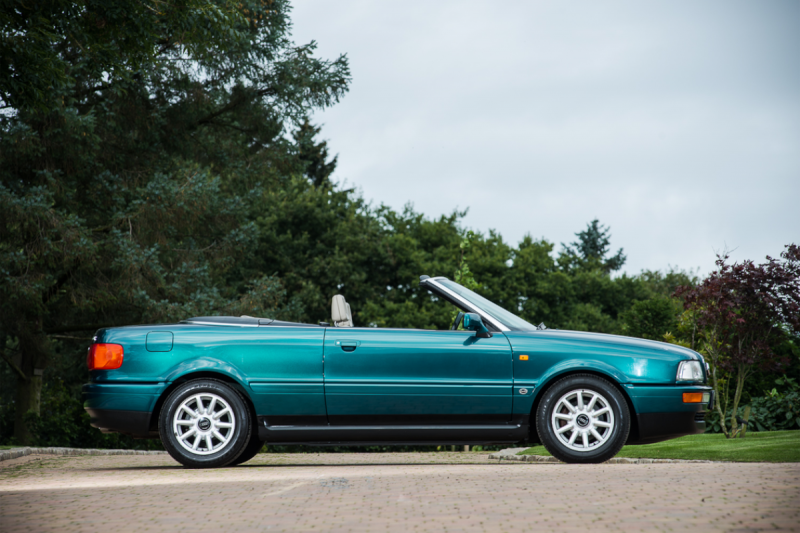 4. 1994 Audi Cabriolet - Formerly the Personal Conveyance of Diana, Princess of Wales