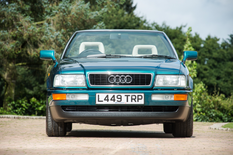 5. 1994 Audi Cabriolet - Formerly the Personal Conveyance of Diana, Princess of Wales