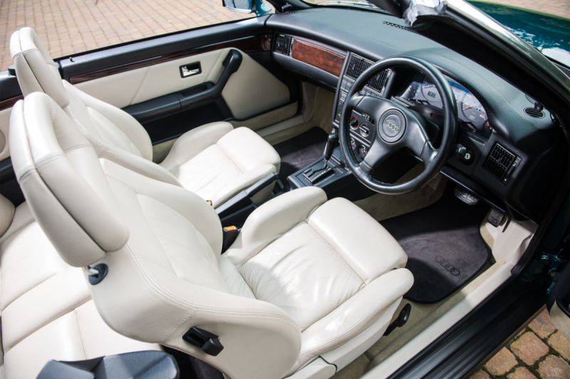 6. 1994 Audi Cabriolet - Formerly the Personal Conveyance of Diana, Princess of Wales